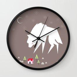 A Visitor Wall Clock