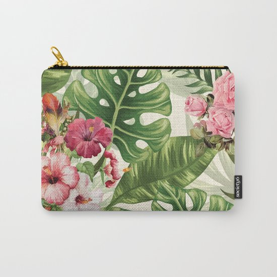 Tropicana Pattern Carry-All Pouch