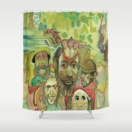 guinea Shower Curtain