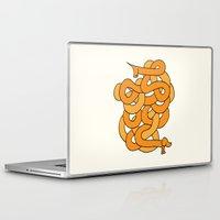 dachshund Laptop & iPad Skins featuring Dachshund. by Tim Howman