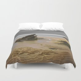Fistral Beach, Newquay, Cornwall, England United Kingdom Duvet Cover