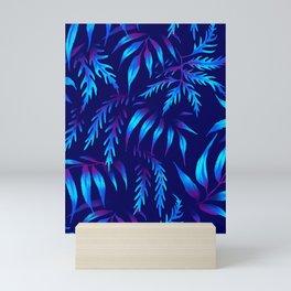 Brooklyn Forest - Blue Mini Art Print