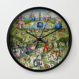 The Garden of Earthly Delights Wall Clock