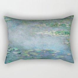 Monet Water Lilies / Nymphéas 1906 Rectangular Pillow
