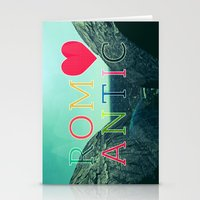 romantic Stationery Cards featuring ROMANTIC by famenxt