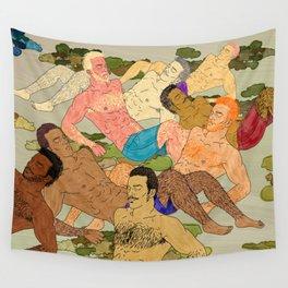 Sunbathers Wall Tapestry