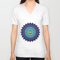 equality V-neck T-shirts featuring Equality by Katherine Marshall