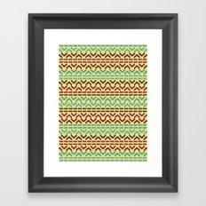 AZTEC Pattern 1-2 Framed Art Print