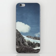 mountains and ice iPhone Skin
