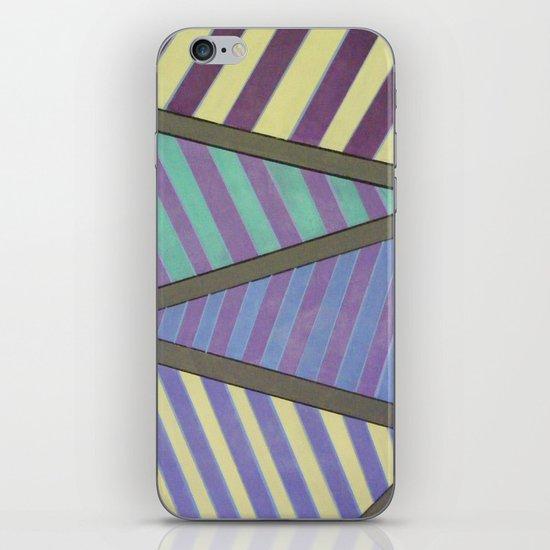 Zig Zag run iPhone & iPod Skin