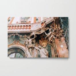 Angels in Asam Church Munich Metal Print