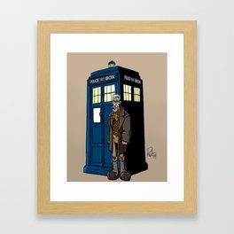 War Doctor Framed Art Print