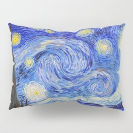 "Vincent Van Gogh "" Starry Night "" Pillow Sham"
