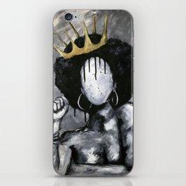 Naturally Queen iPhone Skin