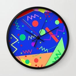 Memphis #53 Wall Clock