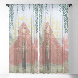 Faerie Circle Sheer Curtain