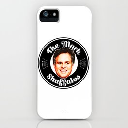Mark Shuffalos iPhone Case