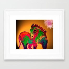 noble dancer Framed Art Print