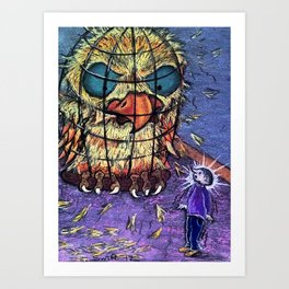 Now That's an Angry Bird Art Print