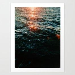 Magical Seas Art Print
