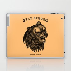 STAY STRONG NEVER GIVE UP Laptop & iPad Skin