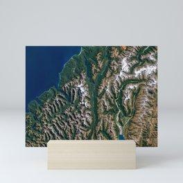 Southern Alps - New Zealand Mini Art Print