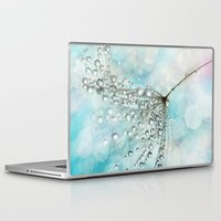 sparkles Laptop & iPad Skins featuring Shower Sparkles by Sharon Johnstone