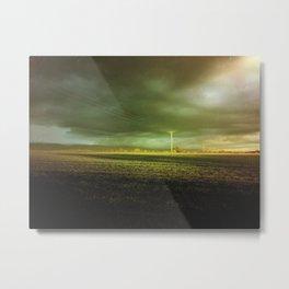 The Coming Storm Metal Print