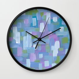 Spring Showers Wall Clock