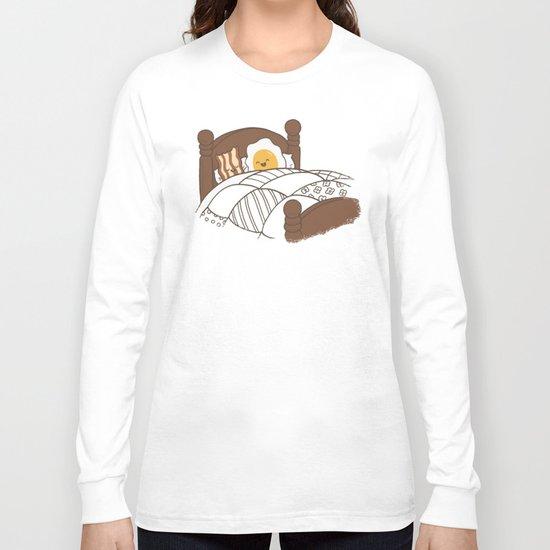 Breakfast In Bed  Long Sleeve T-shirt