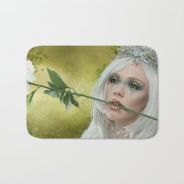 Melanie goth princess Bath Mat