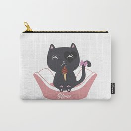Cat Ice Cream Carry-All Pouch