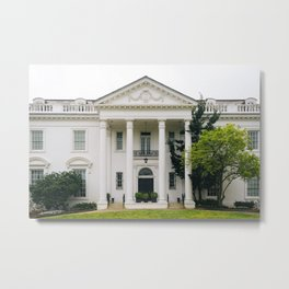 Old Governor's Mansion Metal Print