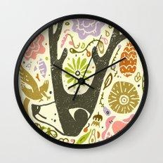 Elking Elk Wall Clock