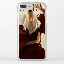 Fire nation master Clear iPhone Case