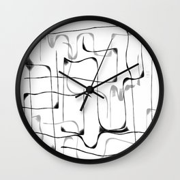 Follow the Line II Wall Clock