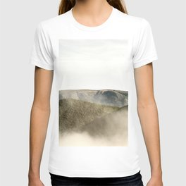 Mountains in the clouds T-shirt