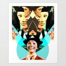 Molly Poppins Art Print