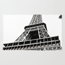 Eiffel Tower in Paris, France. Rug
