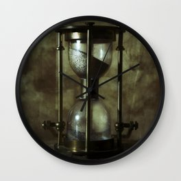 An old hourglass Wall Clock