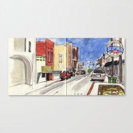 Main Street Jonesboro sketch Canvas Print