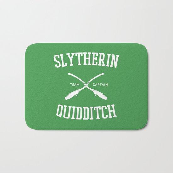 Hogwarts Quidditch Team: Slytherin Bath Mat
