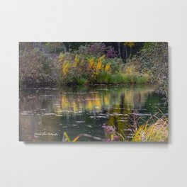 Channel in the Fall Metal Print