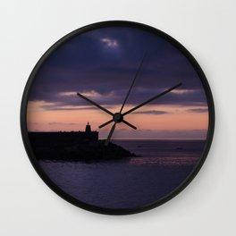 Deba sunset Wall Clock