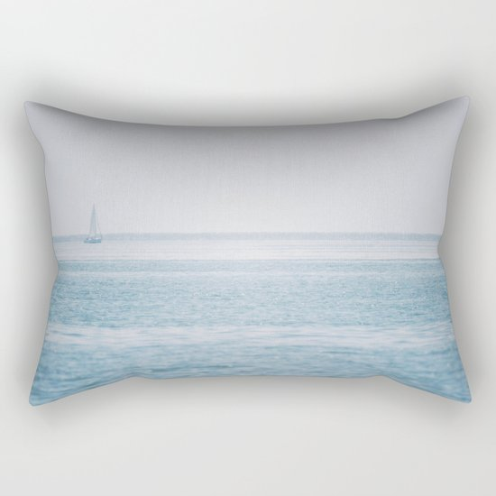 Shimmering Sea Rectangular Pillow