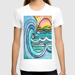 Beachy #society6 #spring #summer T-shirt