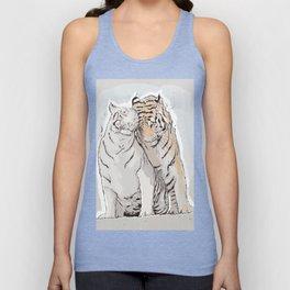 Tiger Love Unisex Tank Top