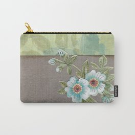Brown paper flowers Carry-All Pouch