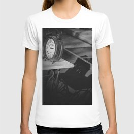 Still life with clock T-shirt