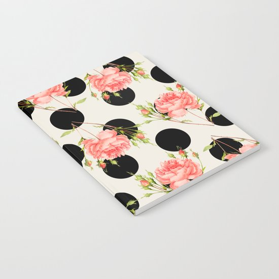 MIXED FLORAL Notebook